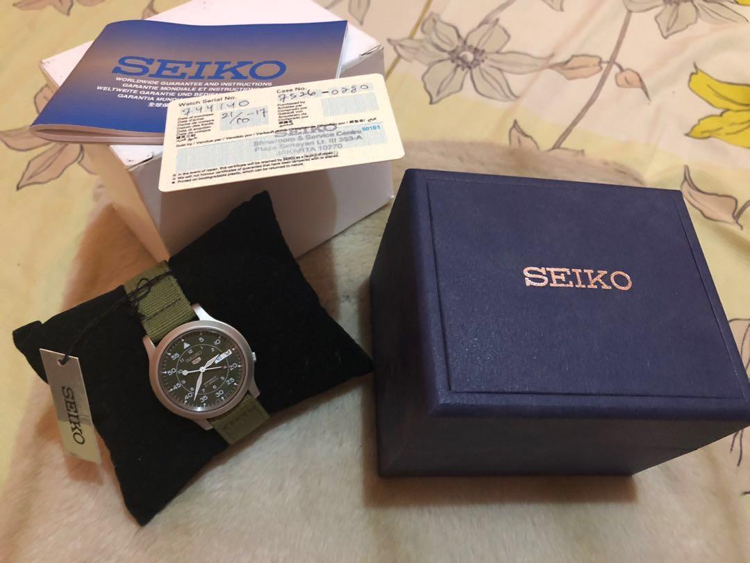 Seiko second hand
