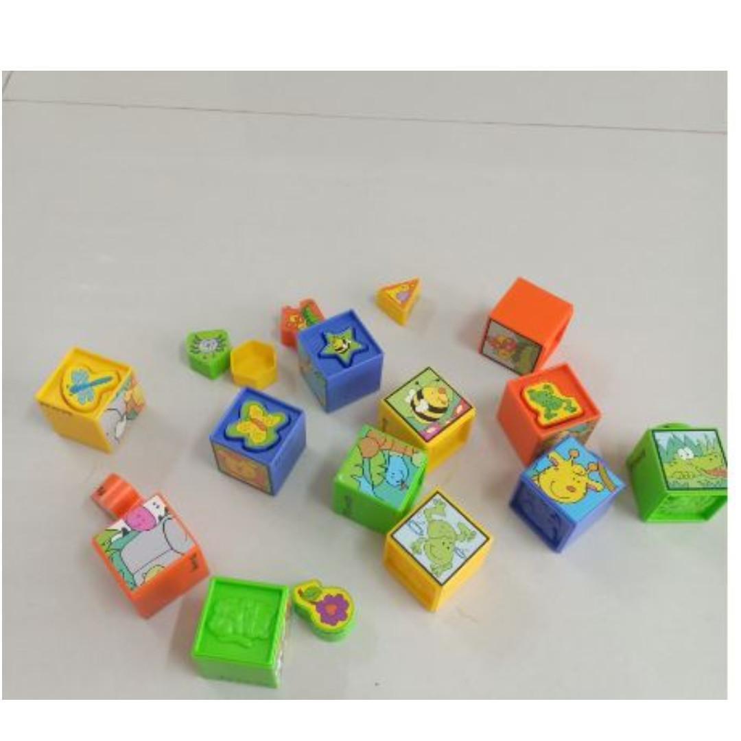 shape sorting puzzle blocks