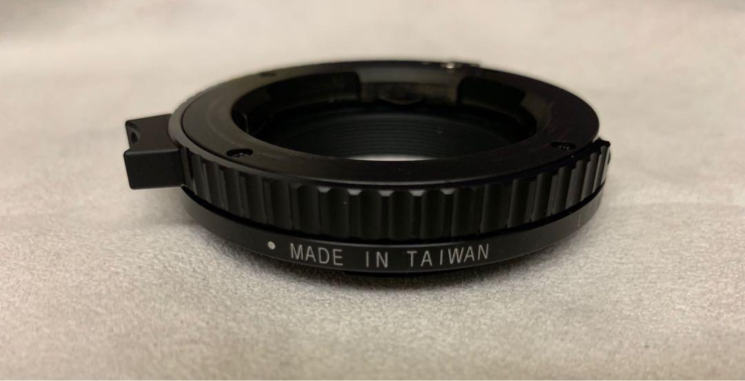 Sony E - Leica M to Sony E 有微距 接環