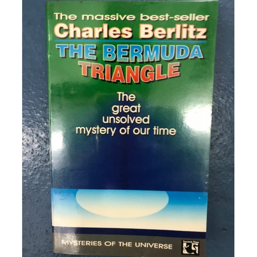 By Triangle Charles The Mystery Bermuda Great Of Our Berlitz Unsolved Time ymf7bgIY6v
