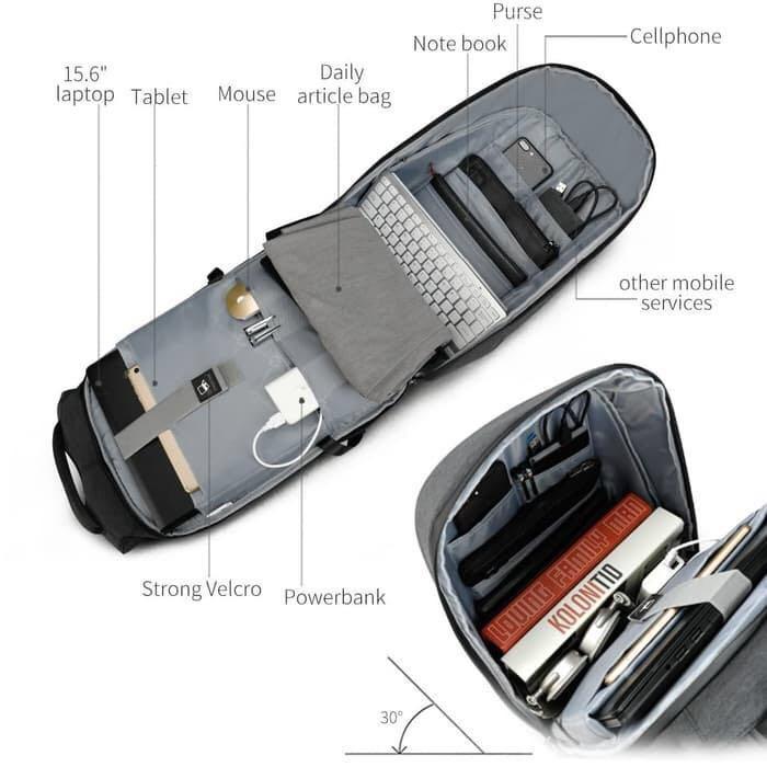 TigerNu Backpack, Anti Theft, Water Resistant