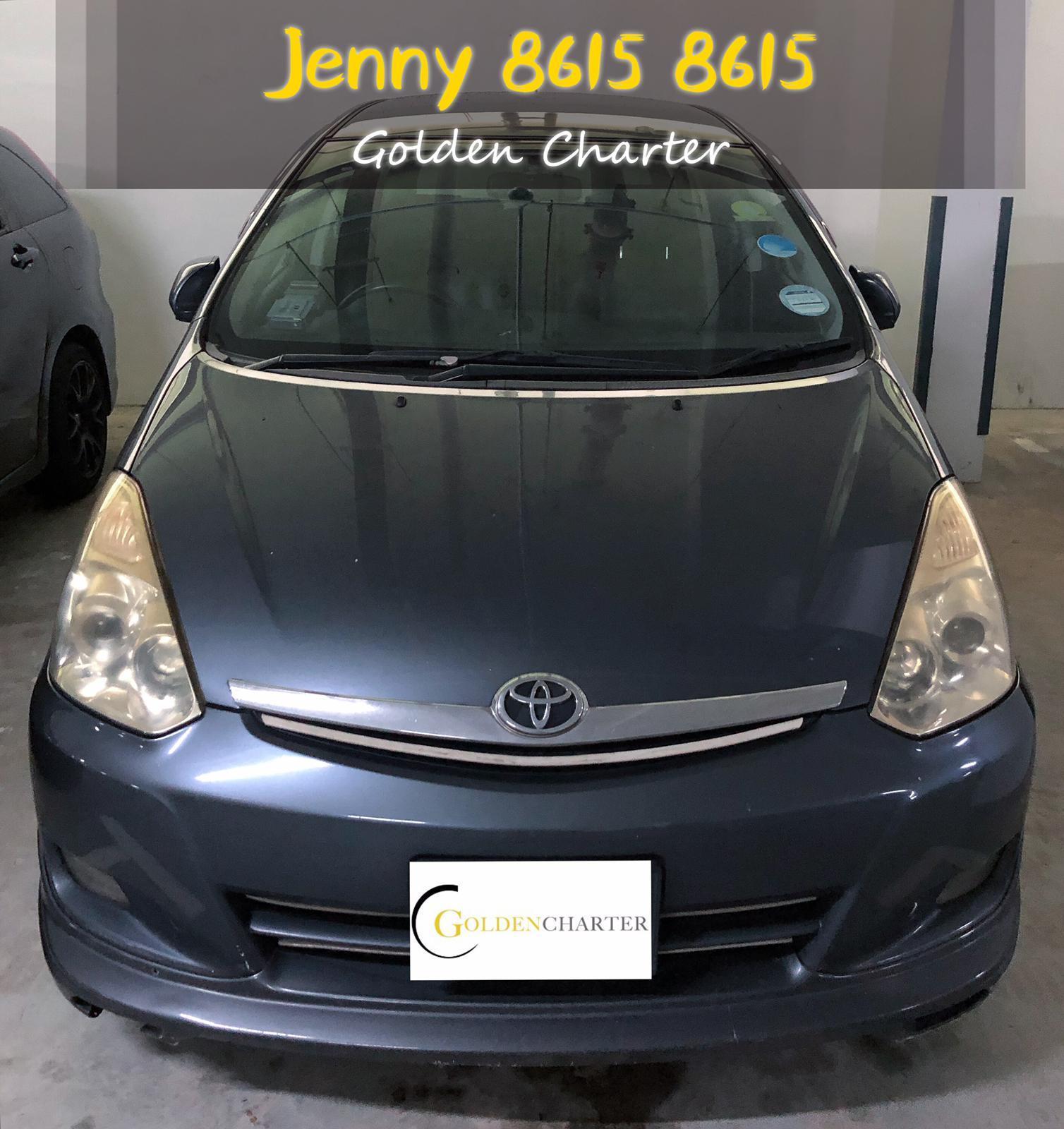 Toyota Wish 1.8a MPV car rent fot PHV gojek,grab n ryde.personal use.cheaper rental.