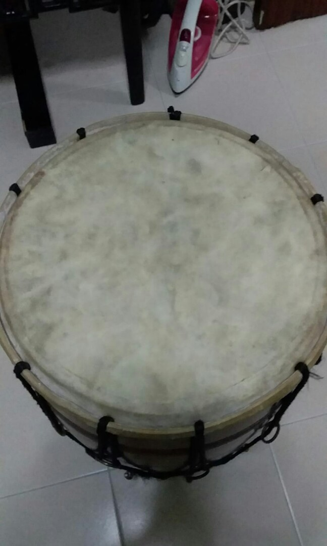 Used Dhol drum, Music & Media, Music Instruments on Carousell
