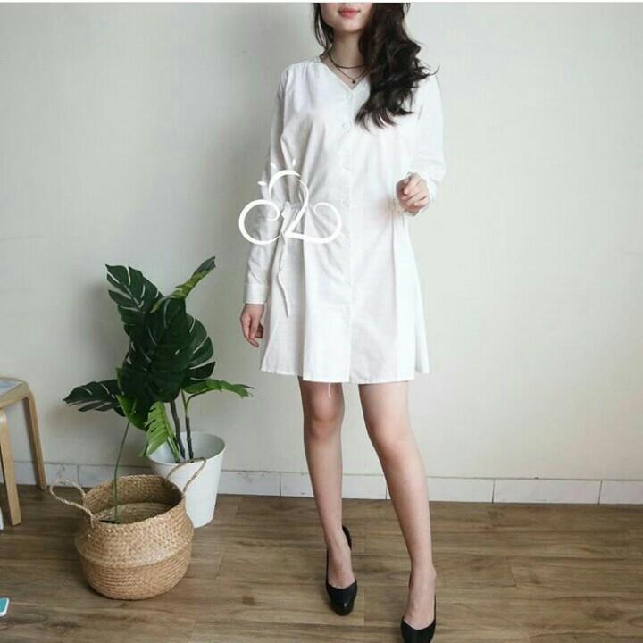 veren white dress