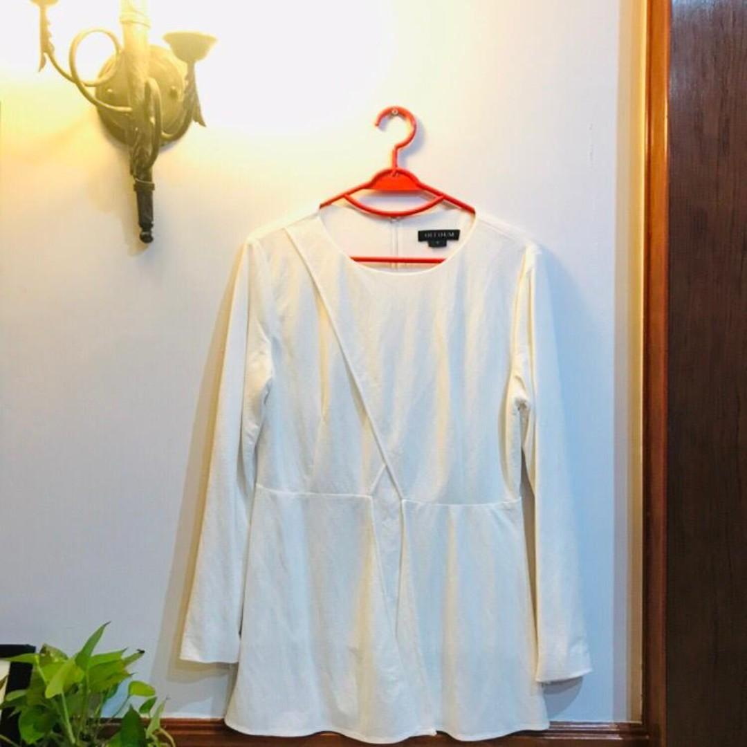 White Blouse (with lining!) from Olloum
