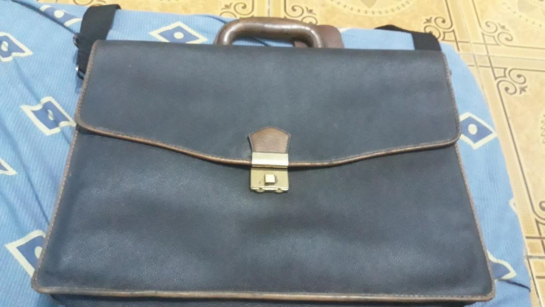 WHO leather safety bags tas kulit untuk kerja