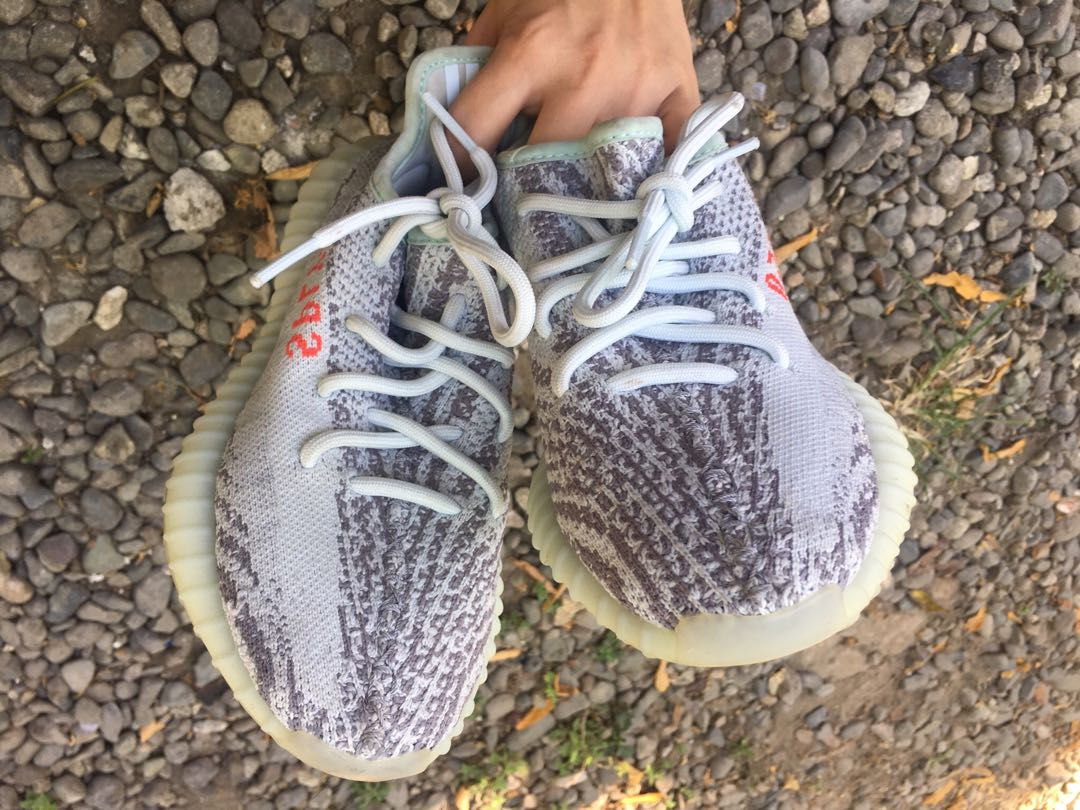 "big sale 360fc 8e4c9 Yeezy Boost 350 V2 ""Blue tint"" on Carousell"