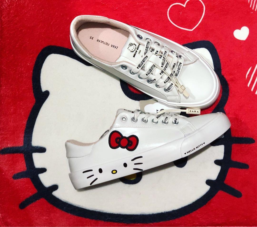 Zara Hello Kitty Shoes, Women's Fashion