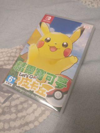 Pokemon Let's Go Pikachui 精靈寶可夢 皮卡丘