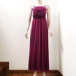 Indigo Evening Gown