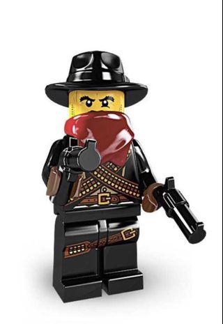 Lego Minifigure series 6 Bandit
