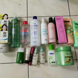 Skincare to let go
