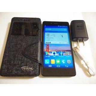 <二手良品螢幕無刮傷>富可視InFocus M518 四核 安卓4.4 5吋 800萬相機 4G手機LTE 只要1200