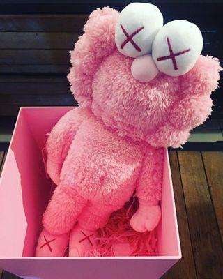 Kaws Pink BFF Limited Edition