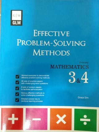 🚚 GLM  Effective Problem-Solving Methods - Pri 3 & 4