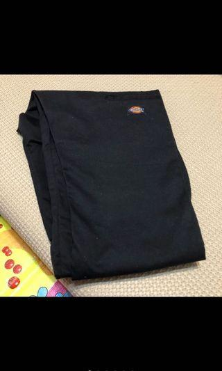 Dickies WP811 skinny 窄管 窄版工作褲 31腰 黑色