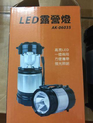 🚚 露營燈 野營燈 led露營燈 手提式 手電筒 2合1露營燈
