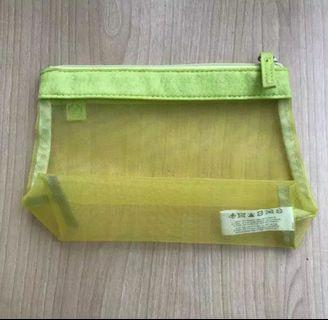 NEW The Body Shop Pouch Baby Green