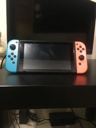 (Negotiable) Nintendo Switch Red And Blue Joy-Cons