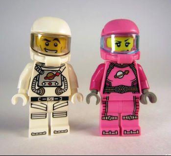 Lego人仔 僅公仔無配件 促銷兩隻$40