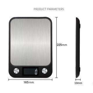 Digital Kitchen Weighing Scale 5kg / 1g (Brand New Set) Large LCD Display
