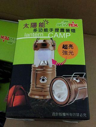 🚚 太陽能 露營燈 太陽能露營燈 登山 旅遊