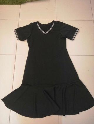 🚚 UK14 - UK18 Mermaid Black Dress