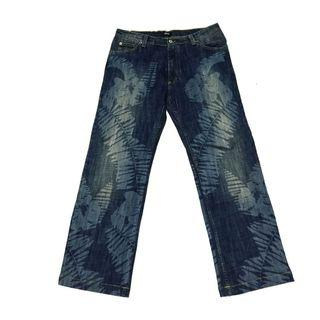 Versace Washed Palm Jeans