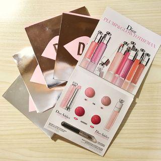 [包郵](5包)DIOR Dior Addict LIP GLOW & LIP MIXIMIZER (4*0.4g 試用裝 sample)