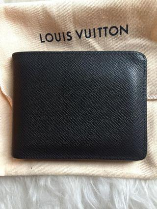 2018 Wallet LV Taiga Leather