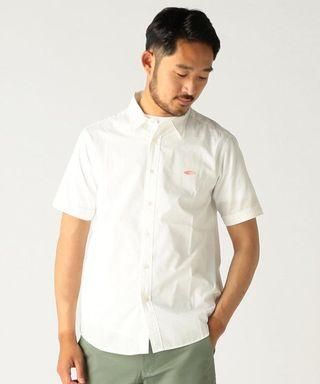 🚚 BEAMS 短袖口袋襯衫 白色M