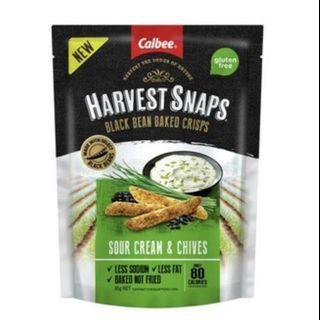 Calbee Sour Cream & Chives Peas Crips 豆角脆條(澳洲代購,3/6/19到港!)