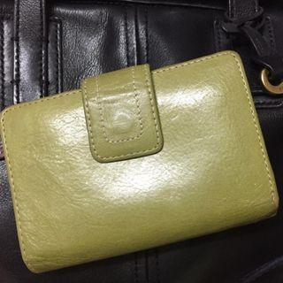 Green Fossil Leather Wallet #OYOHOTEL