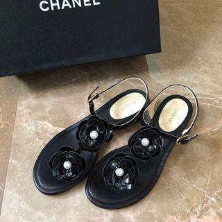 Chanel Shoes香奈兒茶花拖鞋