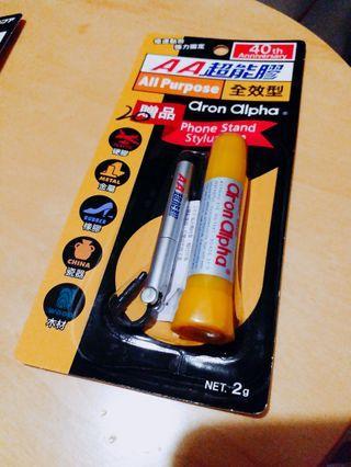 [全新] AA超能膠 °全效型 ☆附贈品phone stand stylus pen