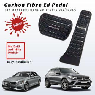 Carbon Fibre Sport Pedal for Mercedes C/E/S/GLC class