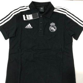 西班牙🇪🇸皇家馬德里(18/19球季)黑色polo S/M/L/XL/2XL size