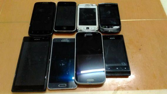 faulty handphone 8pc