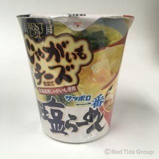 Sanyofoods 札幌一番鹽面麵 (含北海道薯仔和奶酪芝士) 92g