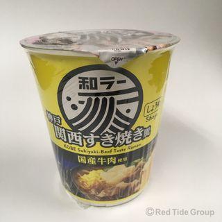 Sanyofoods 神戶壽喜燒牛肉味杯麵 73g
