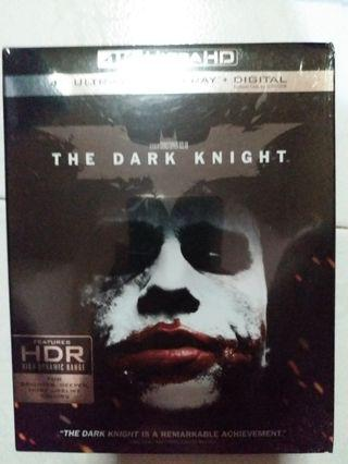 Bluray 蝙蝠俠 THE DARK KNIGHT 4K藍光碟