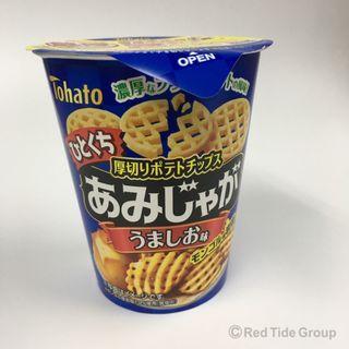 Tohato 牛肉味厚切薯格 36g
