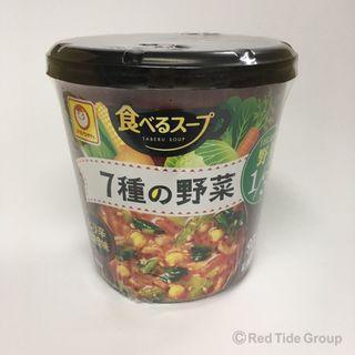 Toyosuisan 7種辛辣味蔬菜湯 29g