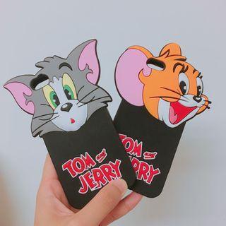 🚚 各式iPhone 6s手機殼 湯姆貓與傑利鼠 龍蝦 冰棒 雞與牛 泡泡先生