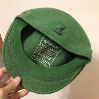 Kangol - 504 亮綠色 經典款 鴨舌帽 小偷帽