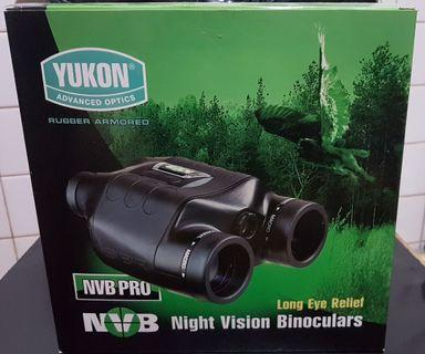 Yukon NVB 2.5x42 Pro Tactical Infrared Night Vision Binoculars Scope For Night Hunting