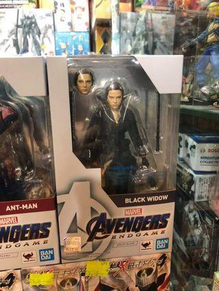 行版 Bandai SHF Marvel Avengers Black Widow Endgame 黑寡婦 復仇者聯盟 終局之戰