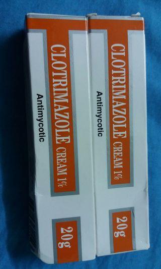 Clotrimazole cream 1% 20g (antimycotic)
