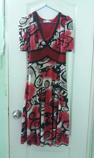 長身裙 long summer stylish dress