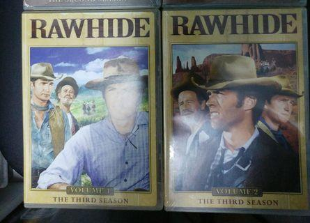 RAWHIDE The Second Season  Volume 1+2  8 DVDs